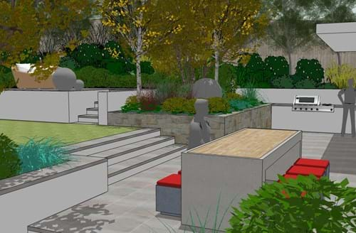 3d models for Landscape design jobs sydney