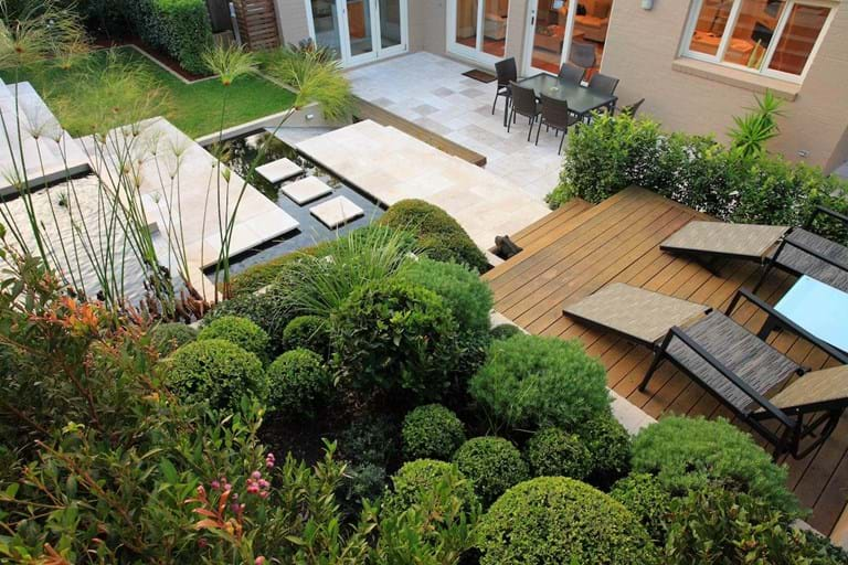 Contact us for landscape design construction & maintenance of your Sydney garden